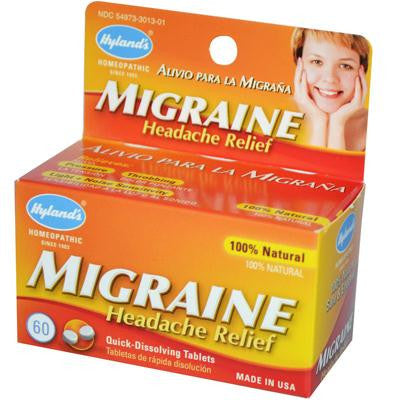 Picture of Hyland's Migraine Headache Relief - 60 Tablets