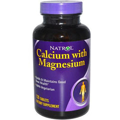 Natrol Calcium with Magnesium - 120 Tablets