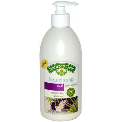 Picture of Nature's Gate Acai Velvet Moisture Liquid Soap - 16 fl oz