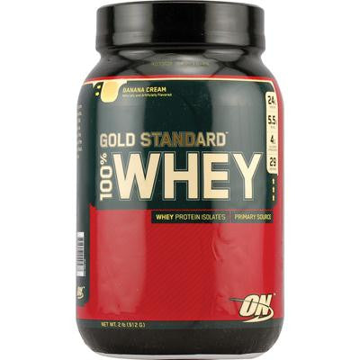 Picture of Optimum Nutrition Gold Standard 100% Whey Banana Cream - 2 lbs