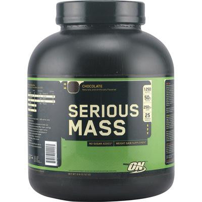 Picture of Optimum Nutrition Serious Mass Chocolate - 6 lbs