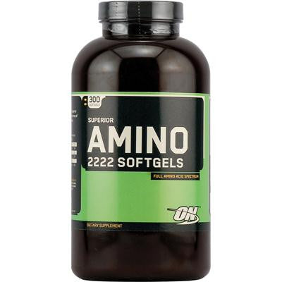 Picture of Optimum Nutrition Superior Amino 2222 Softgels - 300 Softgels