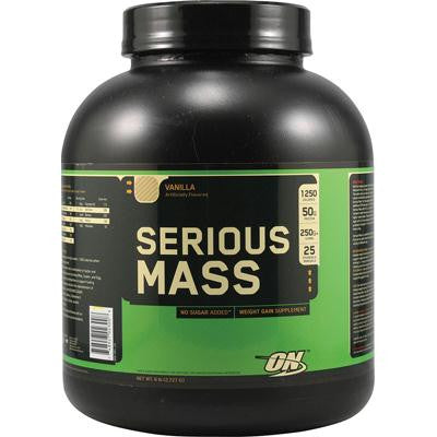 Picture of Optimum Nutrition Serious Mass Vanilla - 6 lbs