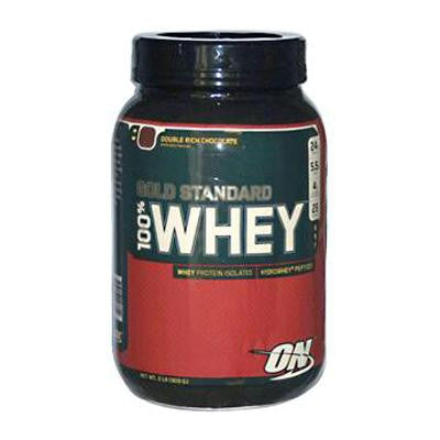 Picture of Optimum Nutrition Gold Standard 100% Whey Double Rich Chocolate - 2.07 lbs