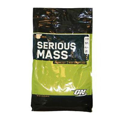 Picture of Optimum Nutrition Serious Mass Vanilla - 12 lbs