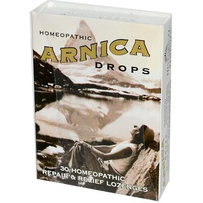 Picture of Historical Remedies Homeopathic Arnica Drops Repair and Relief Lozenges - Case of 12 - 30 Lozenges