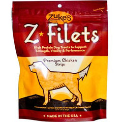 Zuke's Z Filets - Chicken - 3.25 oz
