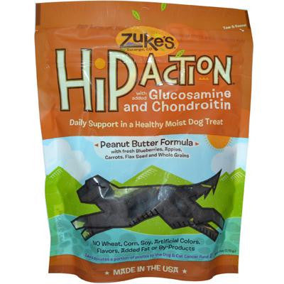 Picture of Zuke's Hip Action Dog Treats Peanut Butter - 6 oz