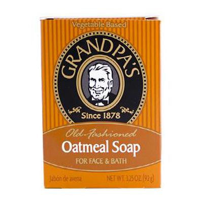 Picture of Grandpa's Oatmeal Bar Soap for Face and Bath - 3.25 oz