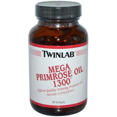 Picture of Twinlab Mega Primrose Oil - 1300 mg - 60 Softgels