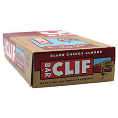 Clif Bar - Organic Black Cherry Almond - Case of 12 - 2.4 oz