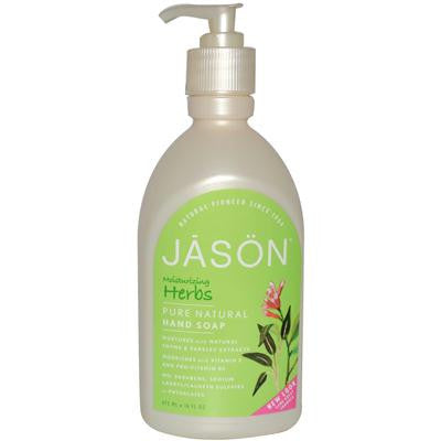 Picture of Jason Satin Soap Liquid Herbal Extracts - 16 fl oz