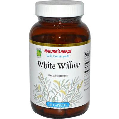 Picture of Nature's Herbs White Willow - 375 mg - 100 Capsules