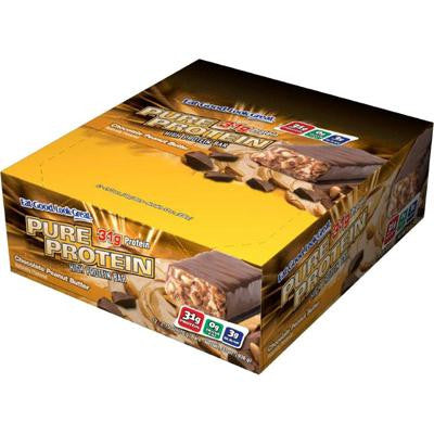 Picture of Pure Protein Bar - Peanut Butter - Case of 12 - 78 Grams
