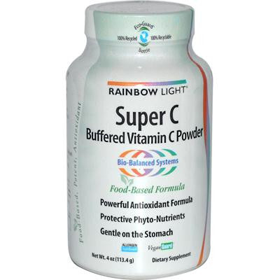 Picture of Rainbow Light Super C Buffered Vitamin C Powder - 4 oz