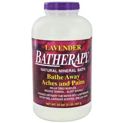 Picture of Queen Helene Batherapy Mineral Bath Salts Lavender - 2 lbs