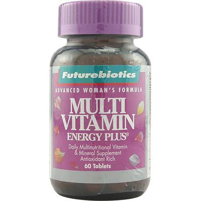 Picture of FutureBiotics Multi Vitamin Energy Plus For Women - 60 Tablets