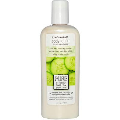 Picture of Pure Life Body Lotion Cucumber - 14.9 fl oz