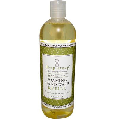 Picture of Deep Steep Foaming Handwash Refill Rosemary Mint - 16 fl oz