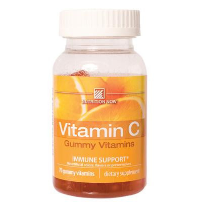 Picture of Nutrition Now Vitamin C Adult Gummy Vitamins Orange - 70 Gummies