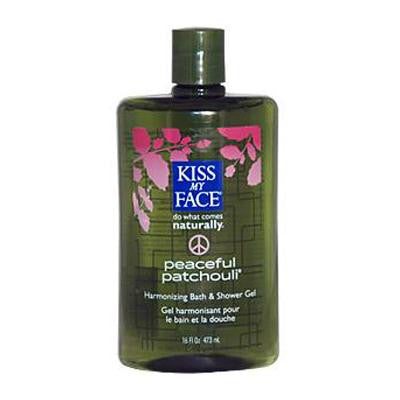 Picture of Kiss My Face Bath and Shower Gel Peaceful Patchouli - 16 fl oz