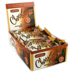 HealthSmart Chocolite Bar - Chocolate Crispy Caramel - Case of 16 - 2/.84 oz