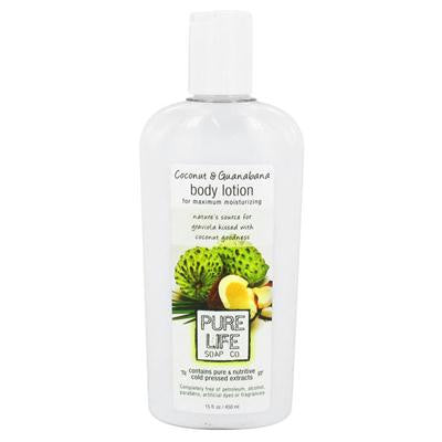 Picture of Pure Life Body Lotion Coconut and Guanabana - 14.9 fl oz