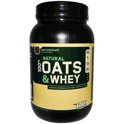 Picture of Optimum Nutrition Natural Oats and Whey Milk Chocolate - 3 lbs