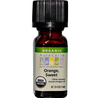 Picture of Aura Cacia Organic Orange Sweet - .25 oz