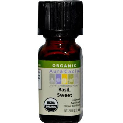 Picture of Aura Cacia Organic Basil Sweet - .25 oz