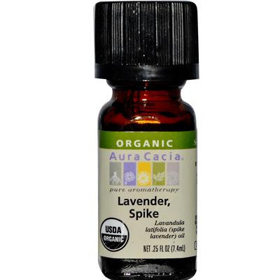 Picture of Aura Cacia Organic Essential Oil - Lavender Spike - .25 oz