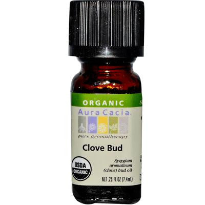 Picture of Aura Cacia Organic Essential Oil - Clove Bud - .25 oz