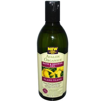 Picture of Avalon Organics Bath and Shower Gel Ylang Ylang - 12 fl oz