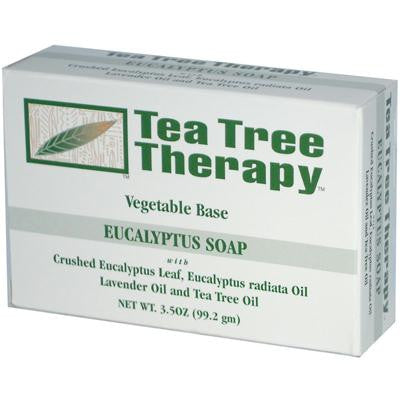 Picture of Tea Tree Therapy Eucalyptus Soap Vegetable Base - 3.5 oz