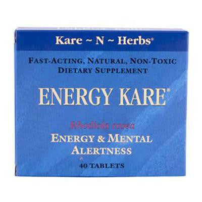 Picture of Kare-N-Herbs Energy Kare - 40 Tablets