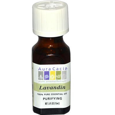 Picture of Aura Cacia Pure Essential Oil Lavandin - 0.5 fl oz