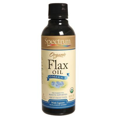Picture of Spectrum Essentials Organic Flax Oil Ultra Enriched - 16 fl oz
