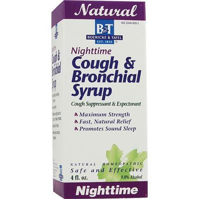 Picture of Boericke and Tafel Cough and Bronchial Syrup Nighttime - 4 fl oz