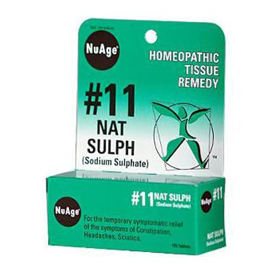 Picture of Hyland's NuAge No 11 Natrum Sulph - 125 Tablets