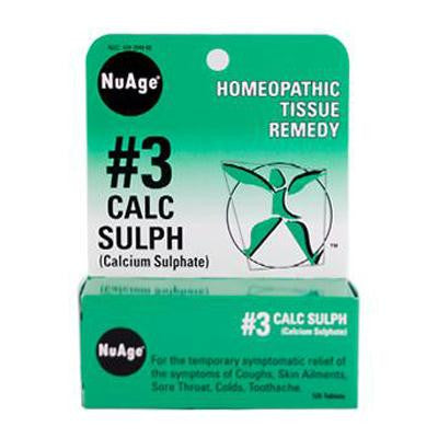 Picture of Hyland's NuAge No.3 Calc Sulph - 125 Tablets