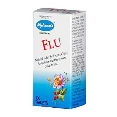 Picture of Hyland's Flu - 100 Tablets
