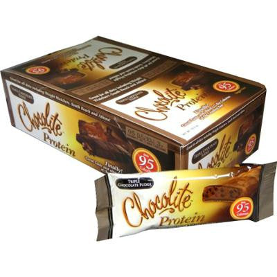Picture of HealthSmart Chocolite Bar - Triple Chocolate Fudge - Case of 16 - 34 Grams