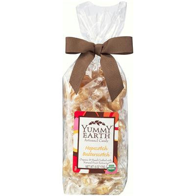 Picture of Yummy Earth Organic Artisanal Candy Drops - Hopscotch Butterscotch - 6 oz