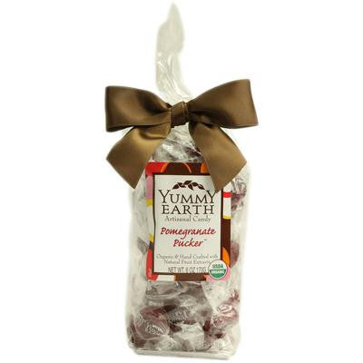 Picture of Yummy Earth Organic Candy Drops Pomegranate Pucker - 6 oz