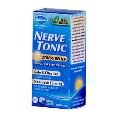 Picture of Hyland's Nerve Tonic - 100 Tablets