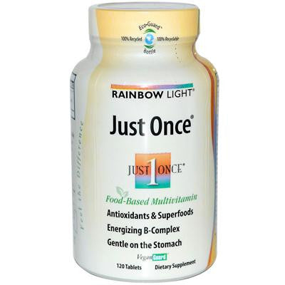Picture of Rainbow Light Just Once Food-Based Multivitamin - 120 Tablets