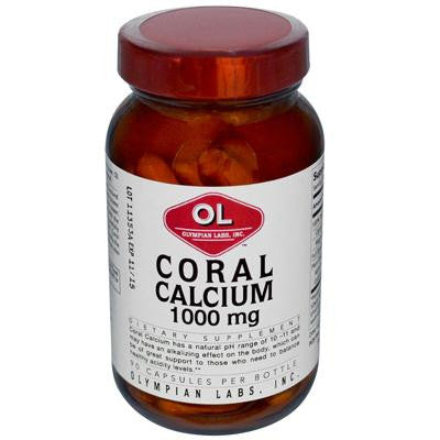 Picture of Olympian Labs Coral Calcium - 1 g - 90 Capsules