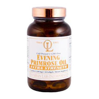 Picture of Olympian Labs Evening Primrose Oil - Extra Strength - 1300 mg - 60 Softgels