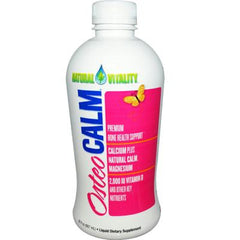 Natural Vitality Osteo Calm Orange Vanilla - 30 fl oz