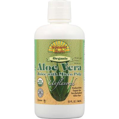 Picture of Dynamic Health Organic Aloe Vera Juice with Micro Pulp - 32 fl oz